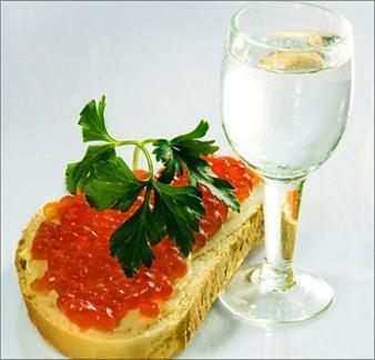 применение водки
