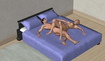 позы для секса - 3 сверху