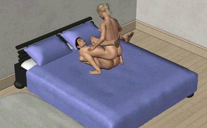 позы для секса - Амазонка