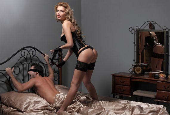 БДСМ массаж - Господство над мужчиной