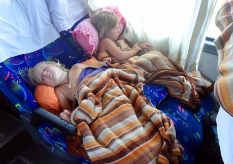 путешествие в автобусе с ребенком