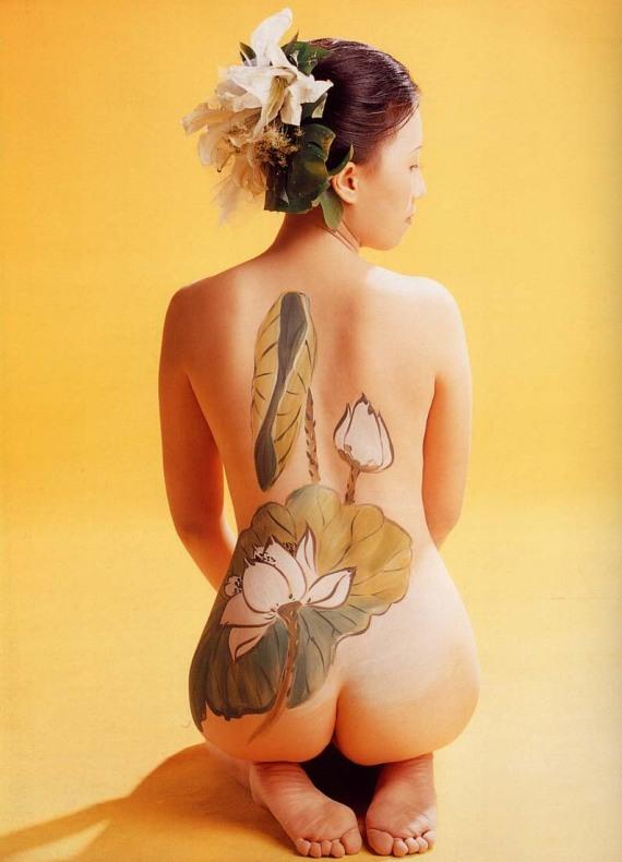 китайские рисунки на теле