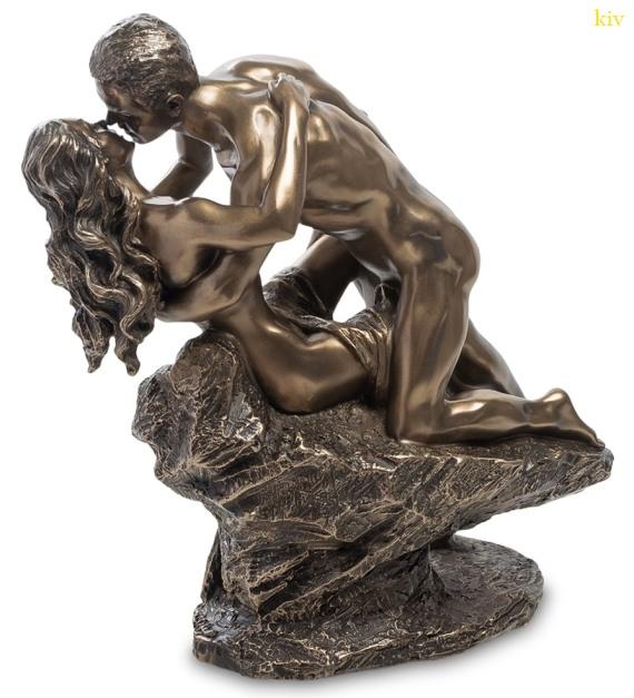 коллекция новогодних подарков - бронзовая статуэтка