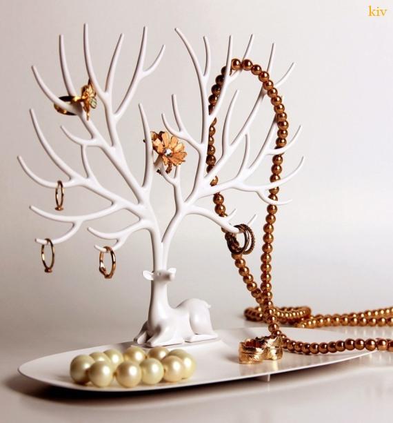 коллекция новогодних подарков - подставка для украшений