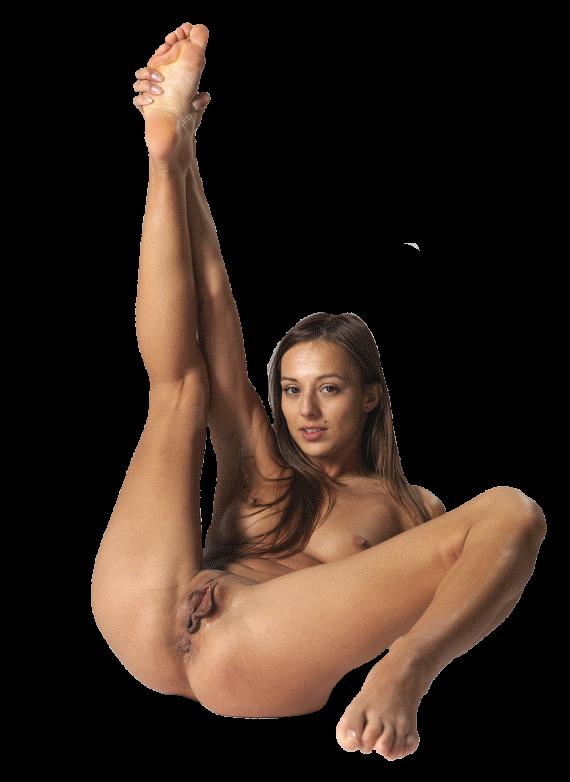голая нога вверх прозрачный фон