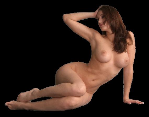 голая женщина сидит клипарт