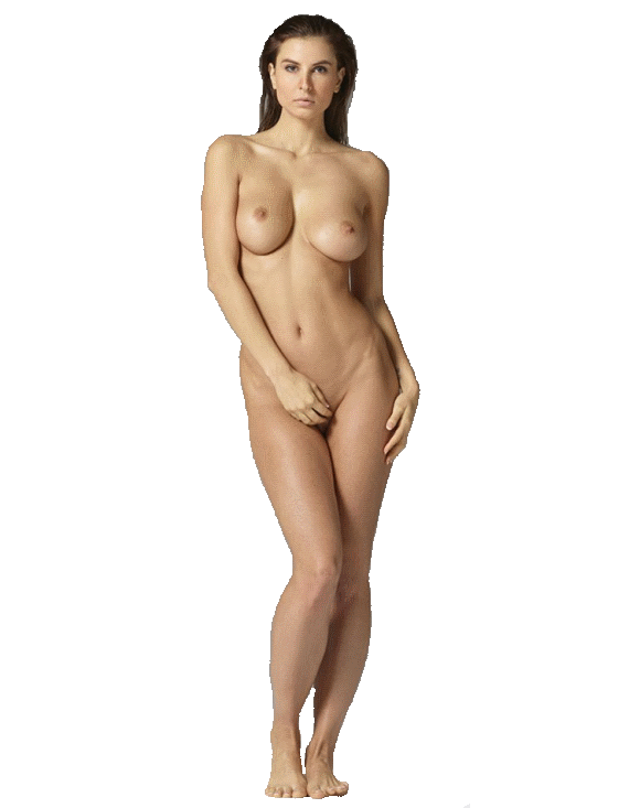 голая женщина стоит клипарт