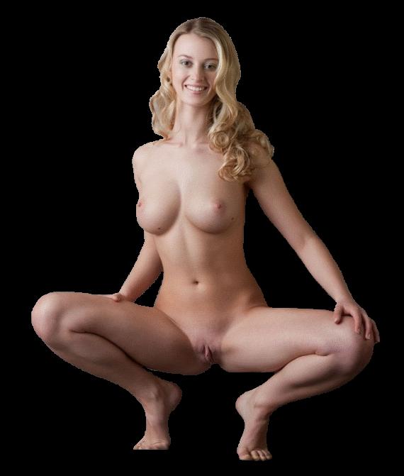 голый клипарт девушки блондинки