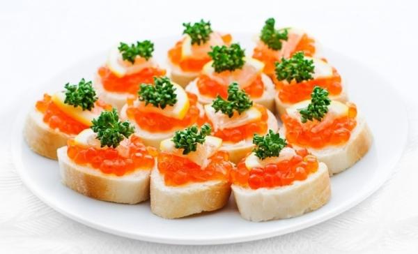 Быстрая закуска - горячие бутерброды
