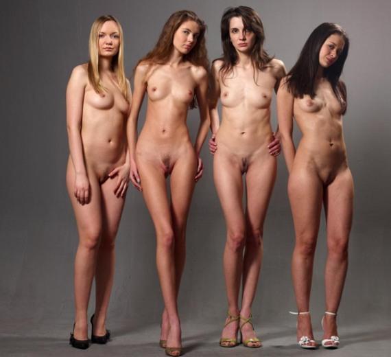 худые голые модели - фото