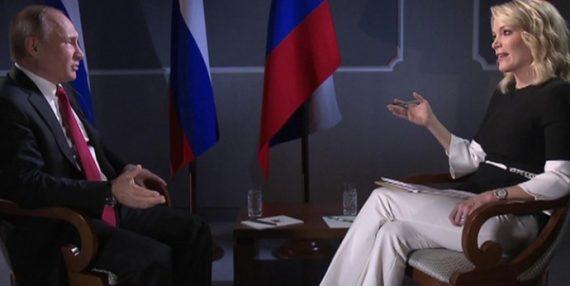 интервью Путин - Келли