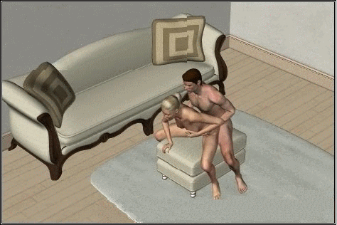 поза для секса - мужчина сзади