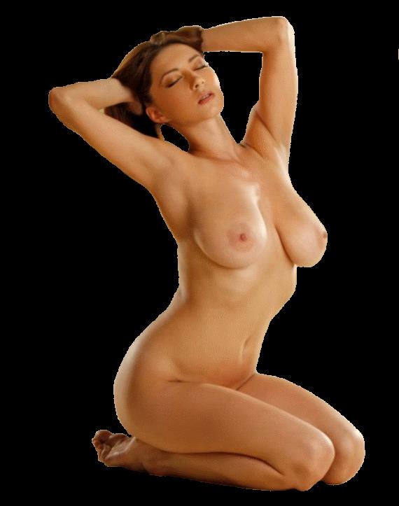 клипарт женщины показывающей грудь
