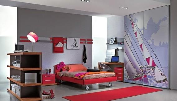 дизайн для комнаты девочки-подростка