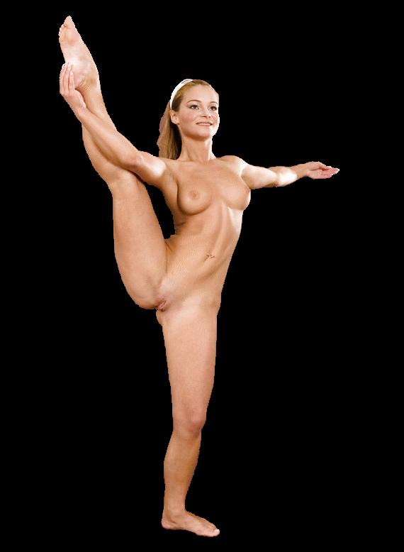 красивый клипарт голой гимнастки