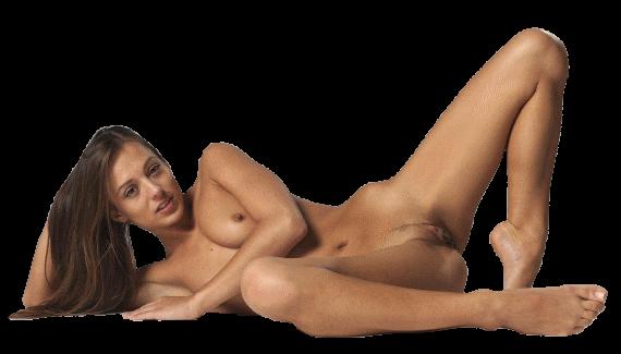 лежит голая дама клипарт