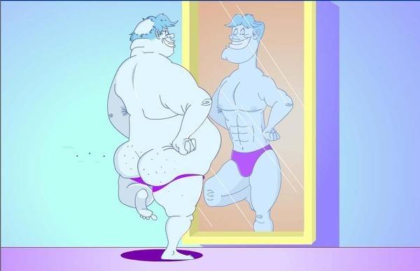 купите мужчине зеркало