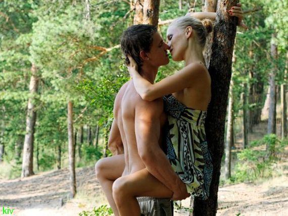 необычные места секса - секс на природе