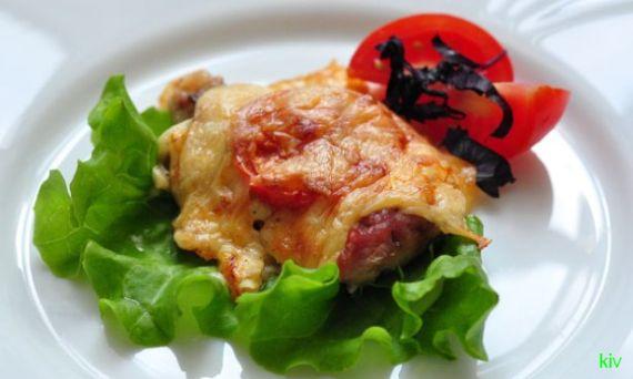 новогоднее мясо по-французски