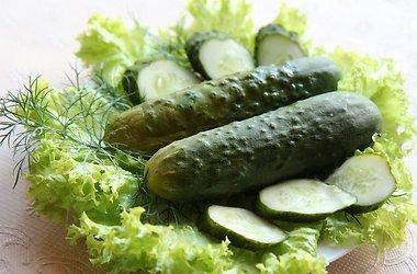 оригинальные рецепты соленых огурчиков