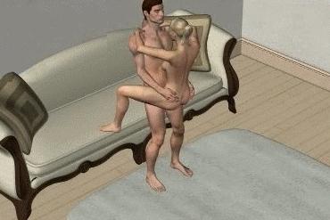 позы для секса стоя 7