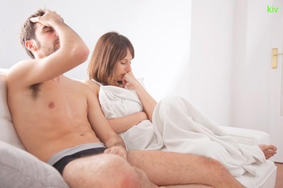 Изза чего во время полового акта ложиться член