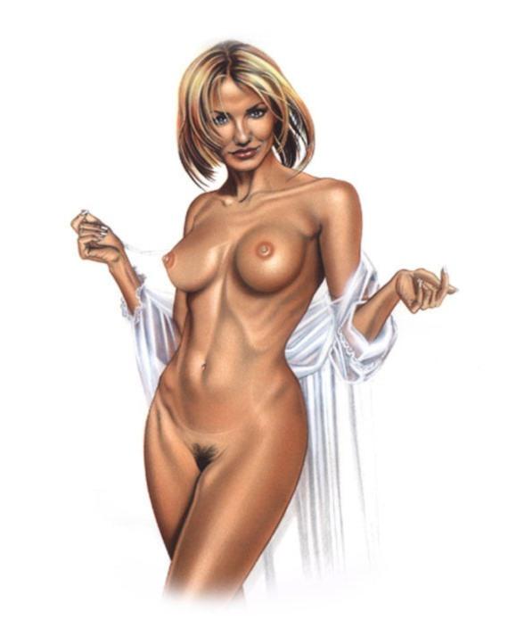 рисунок девушки - 129