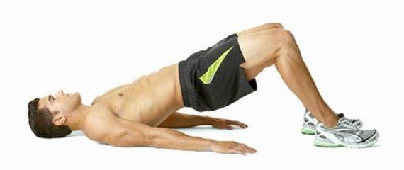 упражнение - поднятие таза