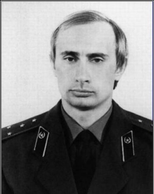 Путин в КГБ