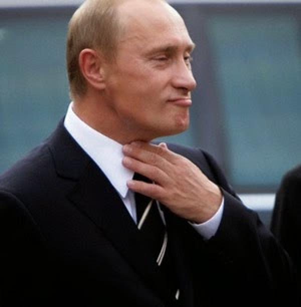 Путин по горло
