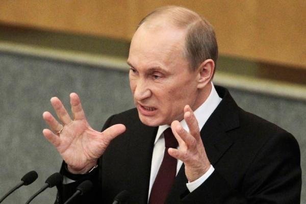 Путин злой