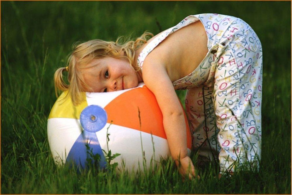 ребенок летом