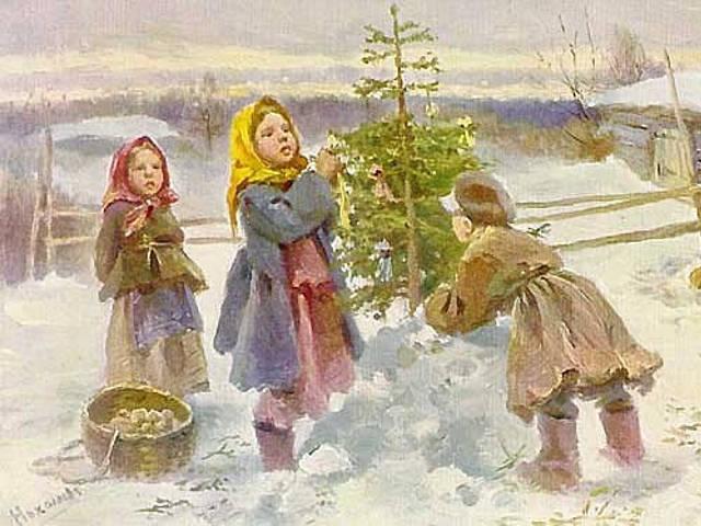 русские новогодние традиции