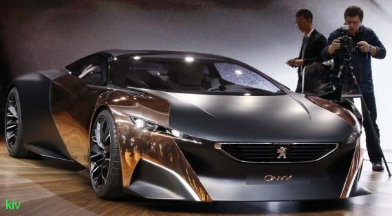 самые сексуальные машины мира - Peugeot Onyx