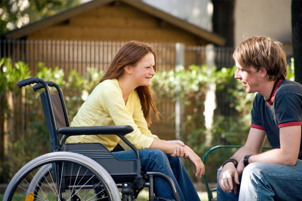 Секс позы с инвалидом