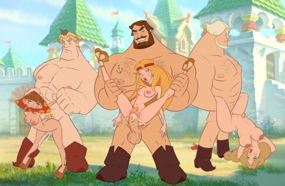 секс с тремя богатырями