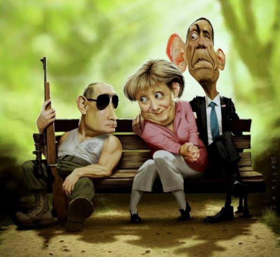 Самые шокирующие карикатуры политиков