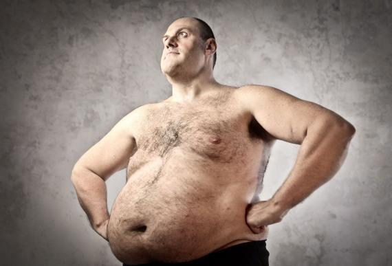 толстые голые мужчины - фото