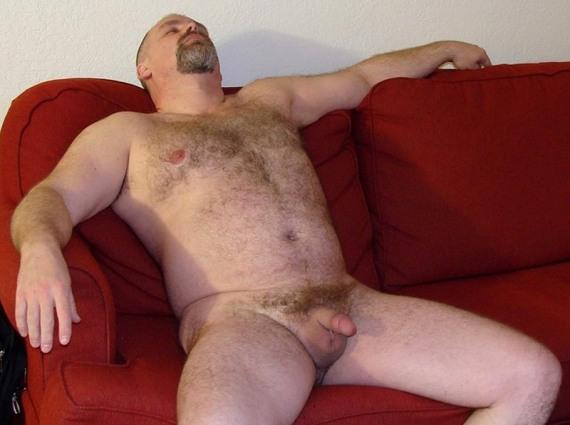 толстые голые мужчины - фото 129