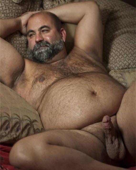 толстые голые мужчины - фото 133