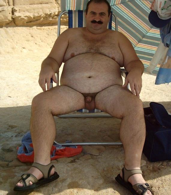 толстые голые мужчины - фото 140