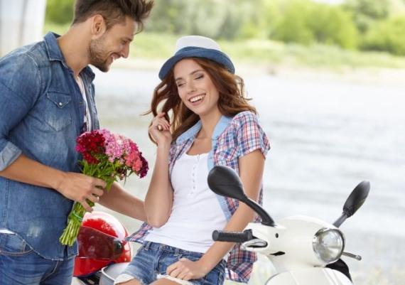 цветы это счастье женщины