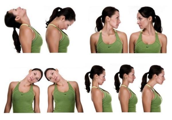 упражнения при остеохондрозе и болях в шее