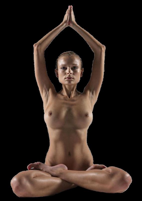 женский клипарт йога